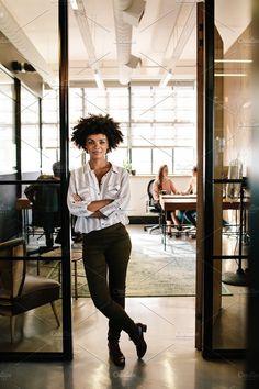 Creative female executive. Business Photos