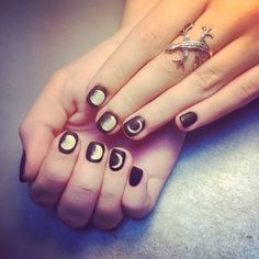 Moon phases nails #moon #moonphase #moonnails #night #nightnails #original #coolnails