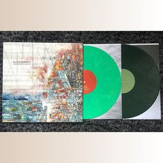 Explosions in the Sky || The Wilderness - Newbury Comics pressing on day green/night green limited to 1000. Another solid record that I'm enjoying more than their previous one. It's still Explosions but this time with some added flavor. Absolutely stunning packaging on this one with a multi-directional gatefold and etched D-side. - #explosionsinthesky #thewilderness #temporaryresidence #newburycomics #vinyl #nowplaying #nowspinning #onmyturntable #vinyligclub #instavinyl #vinylcollector…