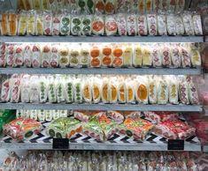 Korean Street Food, Korean Food, Graham Cracker Dessert, Fruit Sandwich, Food Truck Design, Bento Recipes, Cafe Food, Aesthetic Food, Diy Food