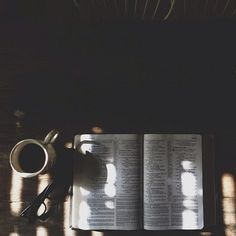 each and every morning. @Michelle Flynn Dyck Coffee and the Word