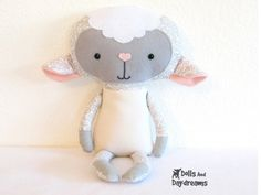Printable Sewing Pattern by DollsAndDaydreams ---so cute!!! INSTANT DOWNLOAD!