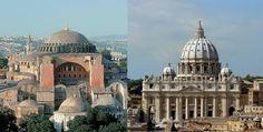 Marea Schisma din 1054 a fost un eveniment care a marcat imparțirea creștinismul in doua mari ramuri, vestica (catolica) și estica (ortodoxa). Schisma s-a pe Taj Mahal, Building, Travel, Viajes, Buildings, Destinations, Traveling, Trips, Construction
