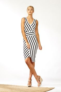 The best of what's new! Shop the Lazaro Ponte Dress in stores and online now www.decjuba.com.au