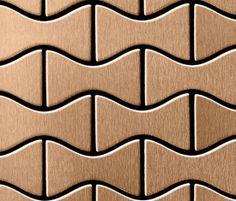 Metal flooring | Hard floors | Kismet Titanium Amber Brushed. Check it out on Architonic
