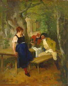 Women ending conversations in art.....love.