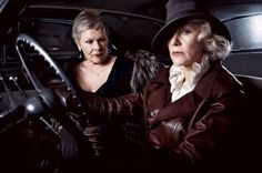Classy ladies that can still rock the sexy!...Dames Judy Dench and Helen Mirren