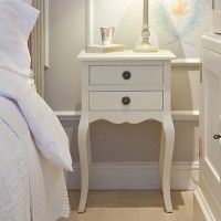 Bedside Table with Swedish Ring Handle