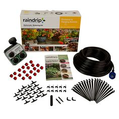 Container and Hanging Basket kit with timer $44.99