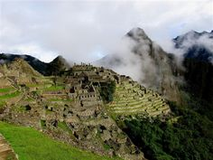 Machu Picchu, Peru: the 'City in the Clouds'