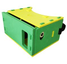 3D VR Glasses - SODIAL(R) DIY VR Headset 3D Glasses Virtual Reality Glasses for 3.5-6 Inch Cellphones iOS Apple iPhone and Android Smartphones with Headband,NFC and Magnet. The EVA version Google Cardboard is perfect fit for 3.5-6 inch screen size cellphones,such as iPhone 4/4s/5s/6/6Plus and Android Samsung HTC LG Moto Nexus Smartphones. Biconvex lenses 37mm in diameter.Complete Kit with NFC tag,Magnet and Stretchable Velcro Head Strap.Easy to assemble. Whether your phone system is…