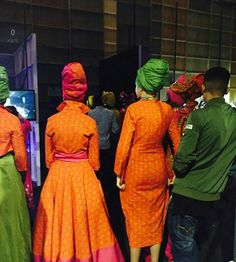 Traditional African clothing & shweshwe dresses All a babe needs is an commodity of Traditional African clothing with the appropriate Xhosa Attire, African Attire, African Wear, African Women, African Dress, African Fashion Designers, African Print Fashion, Africa Fashion, Ethnic Fashion