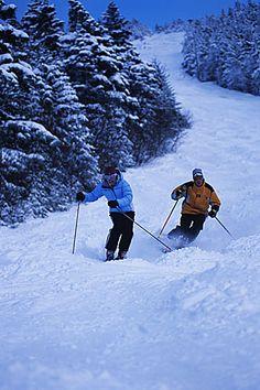 vermont snow skiing
