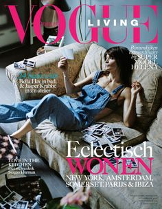 Magazine photos featuring Helena Christensen on the cover. Helena Christensen magazine cover photos, back issues and newstand editions. Magazine Cover Page, Vogue Magazine Covers, Fashion Magazine Cover, Cool Magazine, Vogue Covers, Michael Hutchence, Instagram Snap, Vogue Living, Helena Christensen