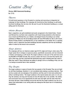 Fashion Design Brief Example | Design Brief | Pinterest | Fashion ...