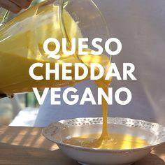 Vegan Cheese Recipes, Vegan Dessert Recipes, Vegan Foods, Vegan Snacks, Veggie Recipes, Vegan Vegetarian, Mexican Food Recipes, Vegan Raw, Amazing Food Videos
