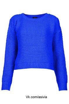dark blue knitted sweater