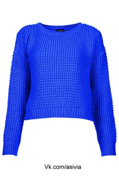 dark blue knitted sweater