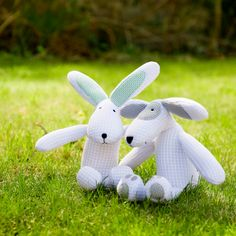 Safebreathe Hoppy and Patch, lovable and cuddly toys created with safety in mind