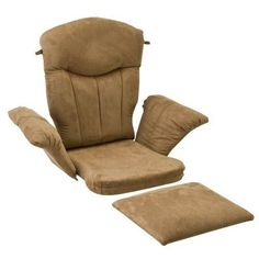 Shermag Glider Rocker Cushion Set - Peat