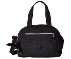 Kipling Bernadine Satchel Shoulder Bag Crossbody Black #Kipling #Satchel
