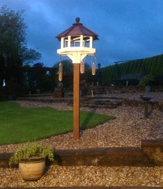 Luxurious Garden Bird Tables, Quality Handcrafted by Welsh Dovecotes, Available To Order.