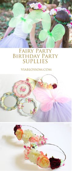 Must Have Fairy Party Supplies Via Blossom Must have Fairy Party Ideas and decorations for a Magical Girl Birthday Party! Butterfly Birthday Party, Fairy Birthday Party, 6th Birthday Parties, Birthday Ideas, Paris Birthday, Girl Birthday Themes, Garden Birthday, Turtle Birthday, Turtle Party