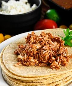Crockpot Carnitas - 9 Healthy Crockpot Recipes to Try This Winter - Shape Magazine - Page 2