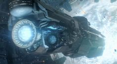 Part 1 of of the live CG E3 game Cinematic for Halo 4, Briefing