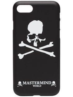 2d889baa9259a Mastermind Japan iPhone 7 8-Hülle Mit Totenkopf-Print - Farfetch
