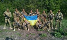Ukrainian Special Forces in the Donbas.