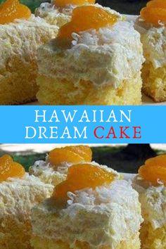 HAWAIIAN DREAM CAKE #HAWAIIAN #DREAM #CAKE