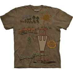 The Mountain Native American T-shirt | Bringer of Bounty