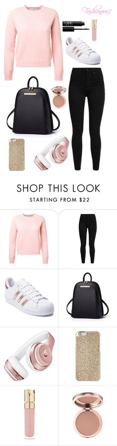 """""""Drink on the house 😉"""" by fashionova1 ❤ liked on Polyvore featuring Levi's, adidas, Beats by Dr. Dre, Michael Kors, Smith & Cult and NARS Cosmetics"""