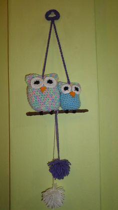 lechuzas buhos crochet decoracion