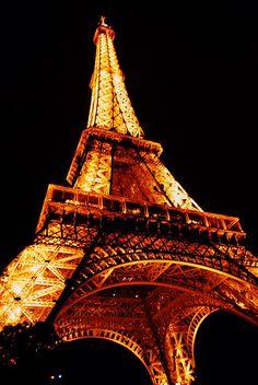 France, Paris - Eiffel Tower by  Eduard Wichner, via Flickr