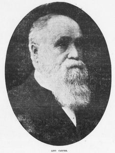 This is Omaha industrialist Levi Carter, Jr. (1830-1903) who founded the Carter White Lead Company along with several other companies in the city.