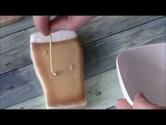 How to Make Dew Drops on Cookies - by Emma's Sweets - YouTube
