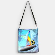 A New #Fresh #Summer #Breeze on #BluedarkArt's @liveheroes #Shop!  #WindSurfer on #Ocean #Waves > https://liveheroes.com/en/brand/bluedarkart   #Design #BluedarkArt_Copyright > http://matinik43.wix.com/bluedarkart