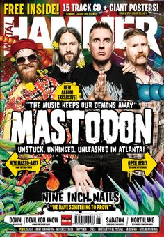MHR257 Matsodon cover from 2014 for Metal Hammer Magazine in the UK with photographer Travis Shinn.