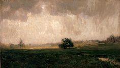 William Langson Lathrop - Solebury Valley | From a unique collection of landscape paintings at http://www.1stdibs.com/art/paintings/landscape-paintings/