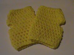 Check out this item in my Etsy shop https://www.etsy.com/listing/169326714/yellow-crochet-fingerless-gloves-ready