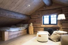 Tømmerseng Bad, Modern, Timber Wood