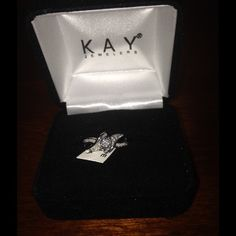 Kay Jewelers Diamond Promise ring size 6 I'm selling this Kay Jewelers promise ring. It's not brand new, but it was barley worn. Needed a size up but never returned. Bought March of last year Kay Jewelers Jewelry Rings