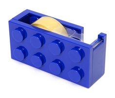 Isso é legal do dia: Suporte para fita adesiva em forma de Bloco de Lego
