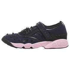 Dior Navy Polyester Trainers | Vestiaire Collective