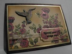Spread Your Wings and Fly by jellybeans - Cards and Paper Crafts at Splitcoaststampers