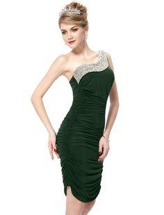 Ever Pretty One Shoulder Ruffles Rhinestones Sequins Padded Cocktail Dress 03482, HE03482GR10, Green, 8US Ever-Pretty,http://www.amazon.com/dp/B00BKRLRZO/ref=cm_sw_r_pi_dp_GVlgtb0Y954HCW0D