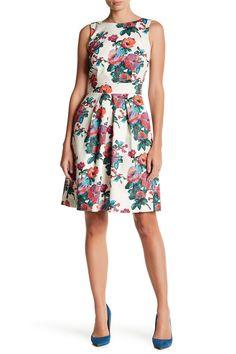 Tie Waist Pleat Detail Pocket Dress by Jet on @HauteLook