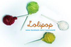 Divertidos lolipops que pueden ser desde imanes para la nevera, broches, colgantes o adornos.